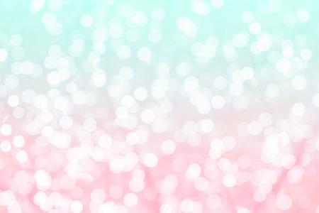 colores pastel: Fondo colorido con textura bokeh natural y brillantes luces desenfocado. Turquesa y rosa con textura de fondo con luces parpadeantes. Vintage y colores pastel