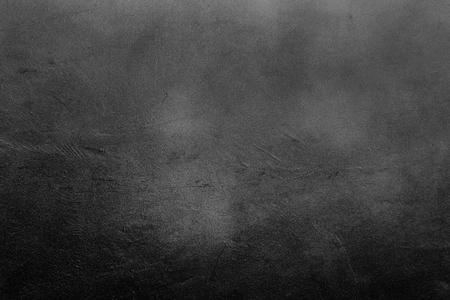 古い傷や荒れには、濃いグレーと黒の壁が描かれています。抽象的なテクスチャ背景、空のテンプレート 写真素材