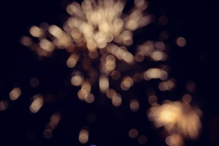 bright light: Bright light spots abstract bokeh blurred texture background Stock Photo