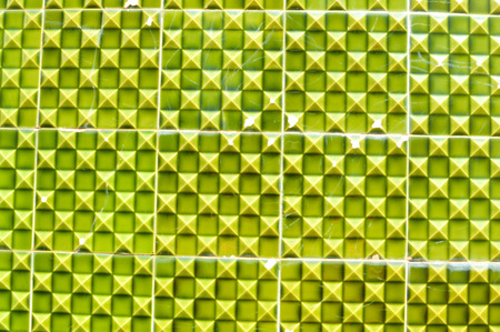 Abstract design closeup of some typical portuguese tiles exotic background detail