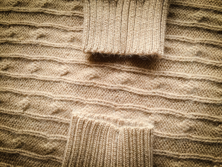 The knitted fabric texture, soft focus abstract background