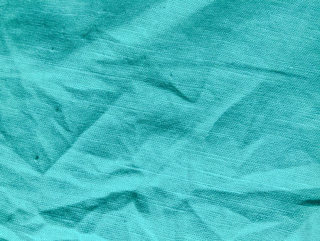 Light turquoise natural linen surface texture background Banco de Imagens