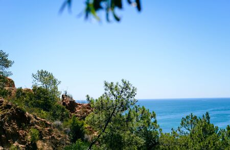 mare agitato: Spiaggia costiera, panorama paesaggio marino paesaggio naturale