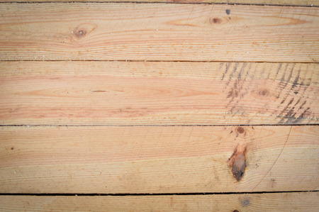 Wooden surface with knots. Texture and background
