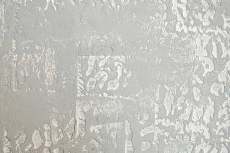 Close up on plaster abstraction pattern surface background