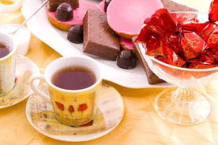 High tea party for a tasty afternoon Stock Photo - 5962771