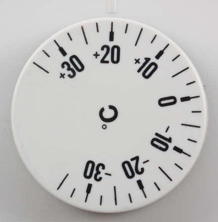 celcius: Thermostat set to room temperatre in celcius