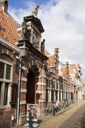 frans: Frans Hals museum in the town of Haarlem