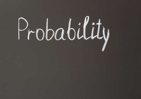 probability: image on the board - probability
