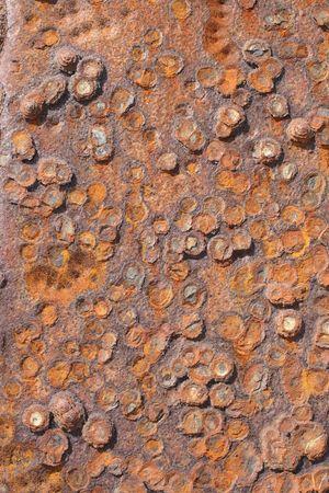 rusting: Rusting metal