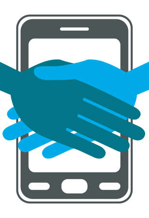 Cellphone or mobile phone deal.  Vector
