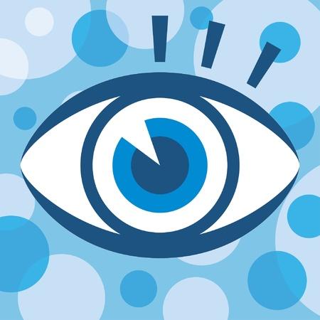 Striking vector eye design. Stock Vector - 10043998
