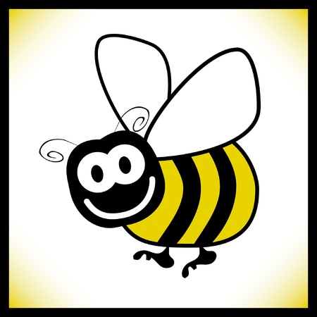 Bumble bee design. Vector