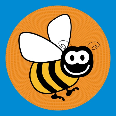 Bumble bee design.  Vector