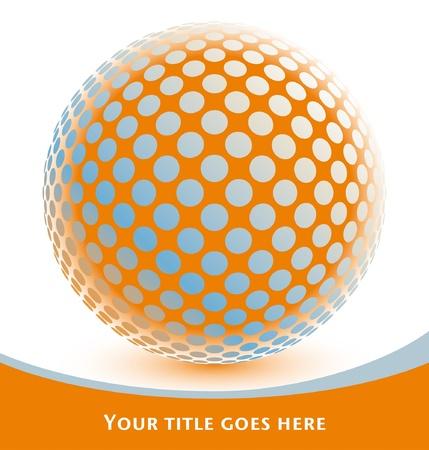 Diseño del globo de colores con copia espacio Foto de archivo - 10458166
