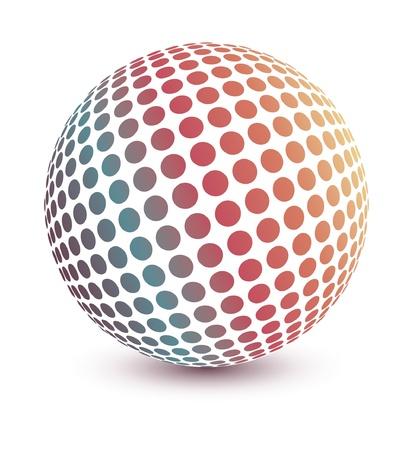 Diseño de globos multicolores.  Foto de archivo - 10502870