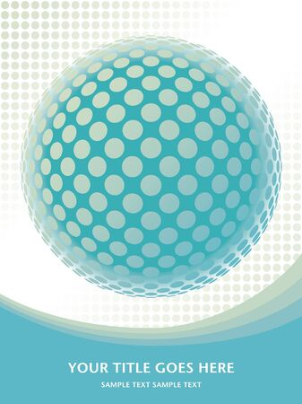 Colorful globe design vector.  Vector