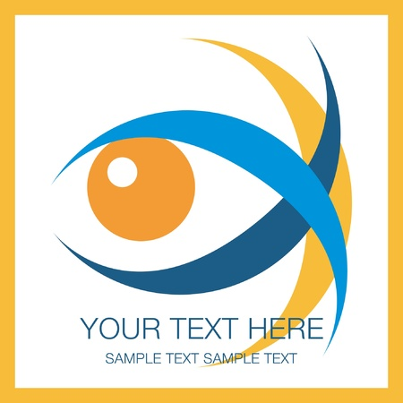 Striking eye design vector. Stock Vector - 10723464