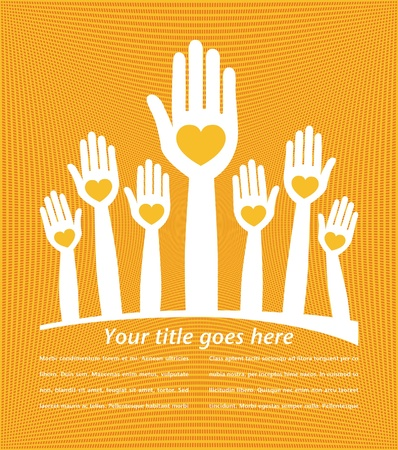 People united with copy space vector   Vector