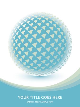 digital globe: Colorful digital globe design
