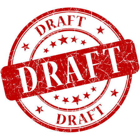 valid: draft stamp