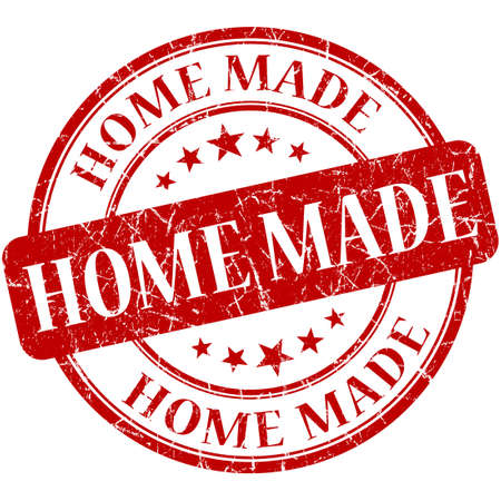 home made: home made stamp