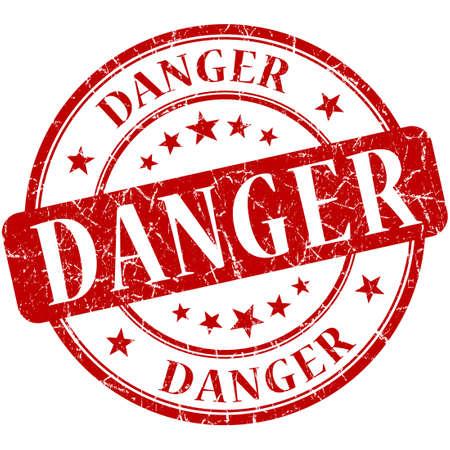 danger stamp Stock Photo - 20980657