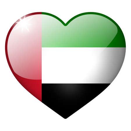 Verenigde Arabische Emiraten: verenigde arabische emiraten hartknoop
