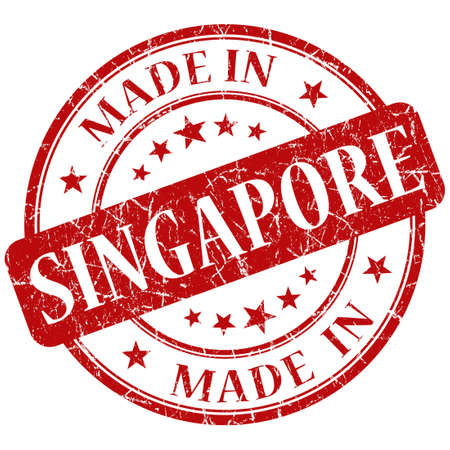 made in singapore stamp photo