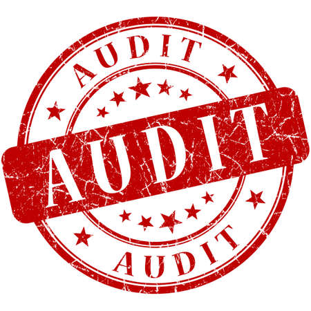 Audit Red stamp photo