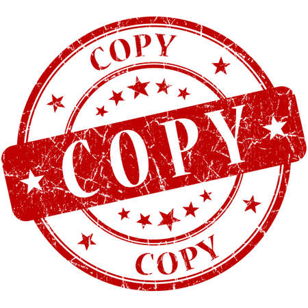 replicated: Copy Red stamp