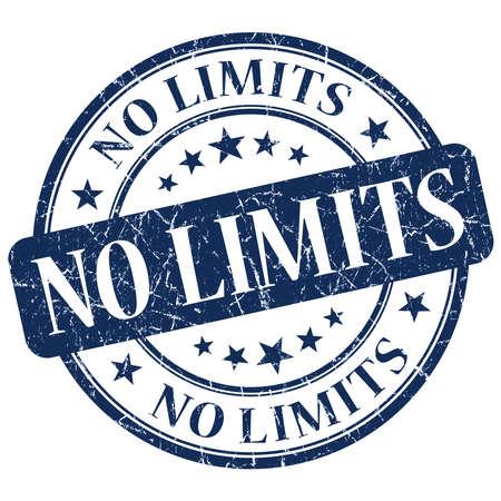 No Limits Blue Stamp photo