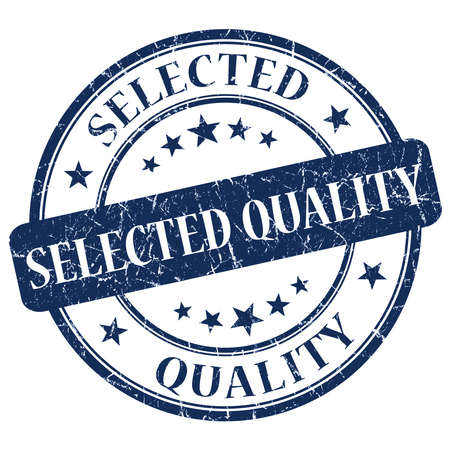 Selected Quality Blue Stamp photo