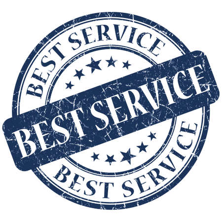 rated: Best service blue stamp