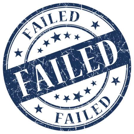 returned: FAILED Blue stamp