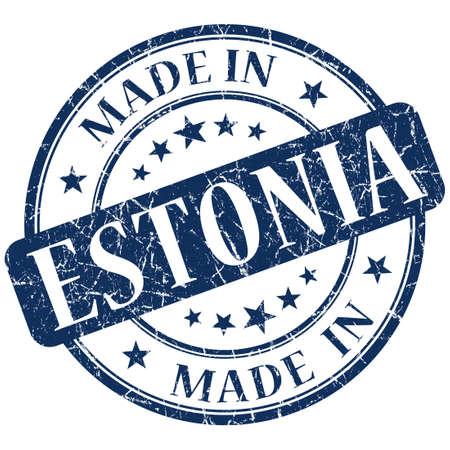 made in estonia stamp photo