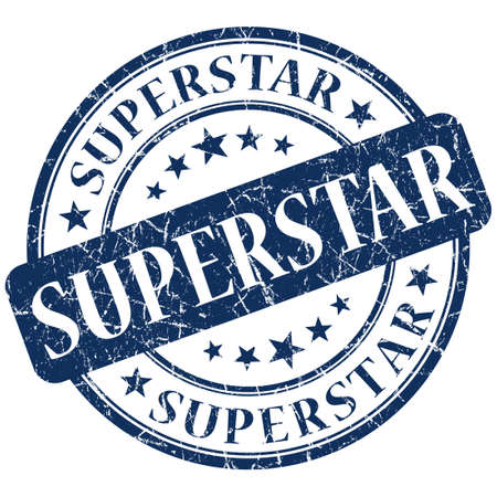 sender: superstar stamp Stock Photo