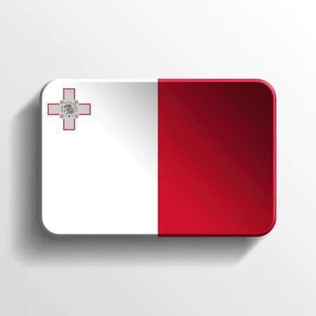 malta: Malta 3D button