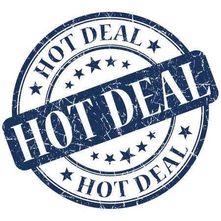 HOT DEAL Blue stamp photo