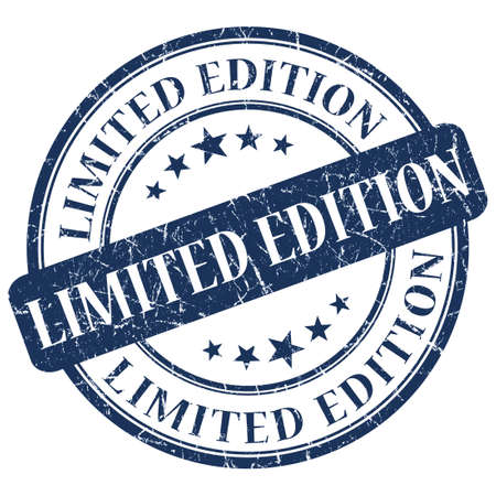 edition: LIMITED EDITION Blue stamp