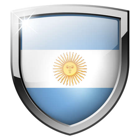 Argentina Shield Stock Photo - 21555727