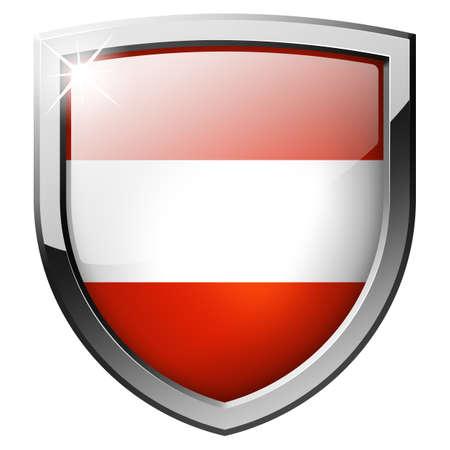Austria shield photo