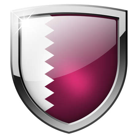 qatar shield Stock Photo - 21555764