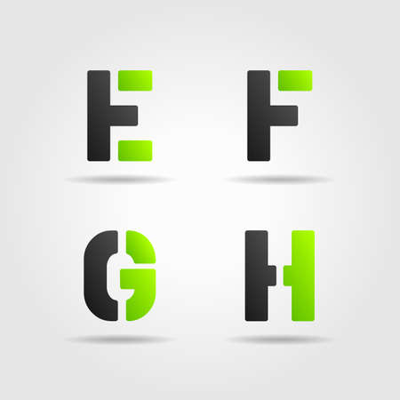 EFGH green Vector