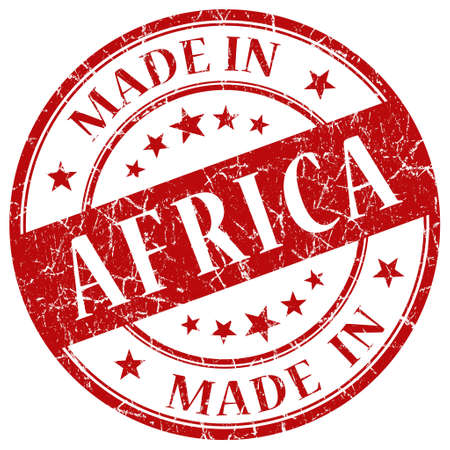 Made In Africa red stamp photo