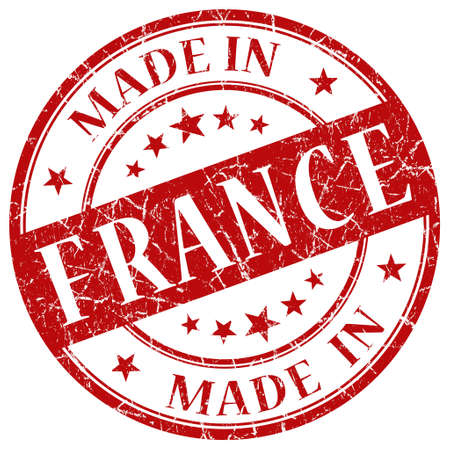Made In France red stamp photo