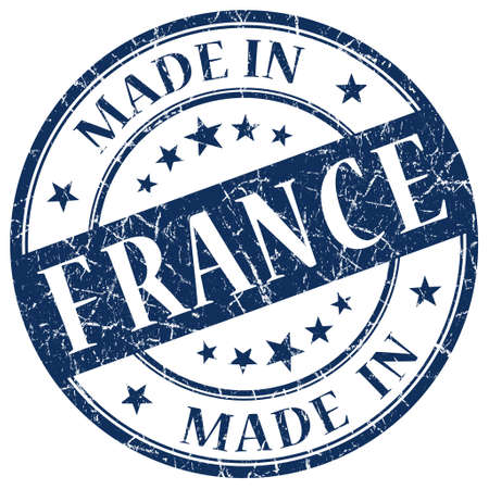 Made In France Blue stamp photo