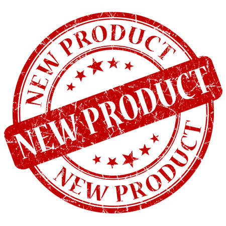 New Product Red stamp photo