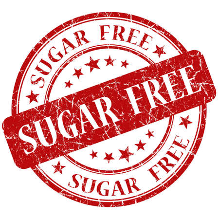 Sugar Free red stamp photo