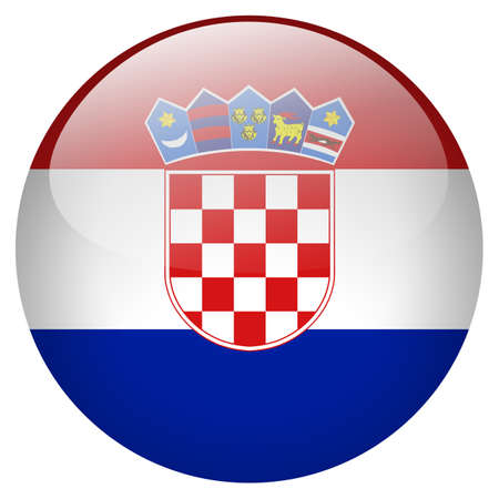 Croatia Button photo